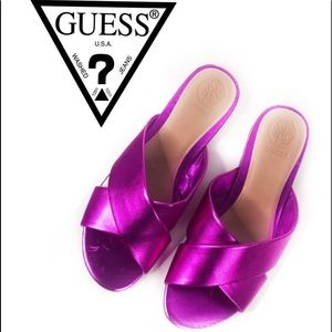 New Guess Flashee3 Slide Sandals